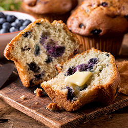 Muffins, Mini Loaves & Cups